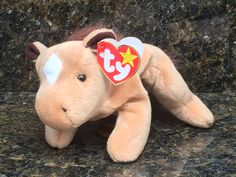 Rare, retired, vintage, and hard-to-find Beanie Babies. by BeanieBabyGiftShop Valuable Beanie Babies, Beanie Babies Value, Rare Beanie Babies, Ty Stuffed Animals, Dinosaur Stuffed Animal, Baby Friends, Ty Beanie Boos, Etsy Seller, Childhood