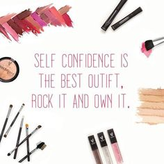 Self confidence is the best outfit. Rock it, Own it