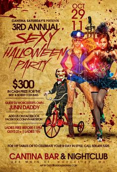 halloween party posters - Google Search Halloween Party Poster, Party Flyer, Night Club, Flyer Design, Daddy, Music Posters, Google Search, Brochure Design, Leaflet Design