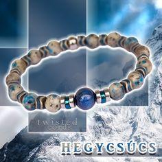 🏔️ Ahol az ég és a föld találkozik - HEGYCSÚCS - prémium ásvány karkötő (K2 ásvány, 10mm-es kianit, hematit, rozsdamentes acél) Bracelets, Jewelry, Bangle Bracelets, Jewellery Making, Jewerly, Jewelery, Jewels, Bracelet, Jewlery