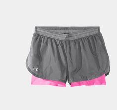 Women's UA See Me Go Translucent 2-in-1 Shorts | 1233676 | Under Armour US