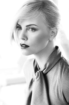 Charlize Theron photographed by Alexi Lubomirski.