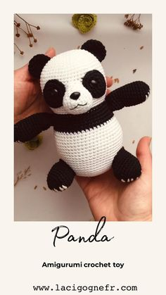 Crochet Panda, Crochet Toys, Toddler Toys, Baby Toys, Baby Shower Gifts, Baby Gifts, Panda Baby Showers, Amigurumi Toys, Baby Room Decor