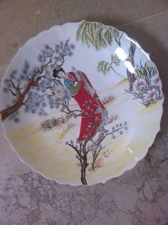 Types Of Art, Decoration, Decorative Plates, Projects To Try, Arts And Crafts, Dishes, Painting, Image, Boxes