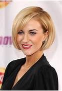 Katherine Kelly Flattering Blunt Bob Hairstyle for Women /Getty images