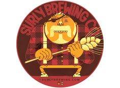 Surly Brewing Co. Coaster by Emory Allen