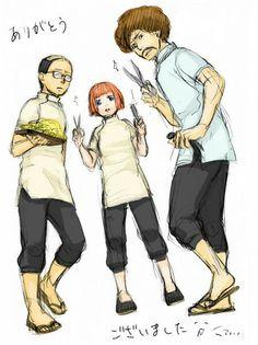 #gintam #gintoki #kagura #shinpachi #odd_job #yorozuya #suduharu