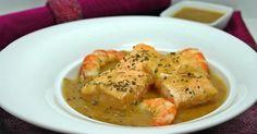 Cocina tradicional, noticias gastronomicas,postres,comida,recetas,casera,dieta Cauliflower, Shrimp, Chicken, Vegetables, Food, Recipes, One Pot Dinners, Deserts, Healthy Dinners