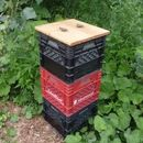 Milkcrate Composter (vertically Stacked)