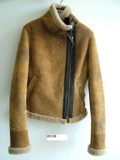 the perfect shearling jacket