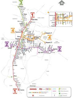 Metrobus Mexico city Transport Map, Public Transport, Metro Map, Rapid Transit, Spanish Culture, México City, Circuit Diagram, Design Graphique, Vacation Spots