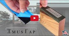 Imus Cap is a patented, easy to install joist and beam cap designed to protect your wooden deck structure from water damage and rot. Imus Cap is made of bonderized metal with Imus Flex… Cool Deck, Diy Deck, Backyard Decks, Synthetic Decking, How To Waterproof Wood, Butyl Rubber, Laying Decking, Deck Construction, Deck Plans