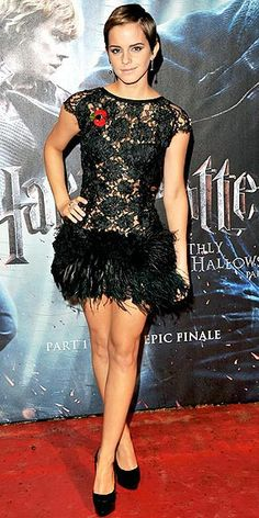 Emma Watson - Harry Potter and the Deathly Hallows Pt. 1 London Premiere