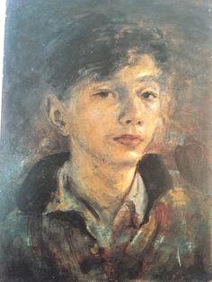松本竣介 1912-1948 Shunsuke Matsumoto 顔(自画像) Head(Self-Portrait) 1940