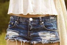 Boho vibes with One Teaspoon Aldo, Hollister, Denim Shorts, Bohemian, Summer, Women, Style, Fashion, Swag