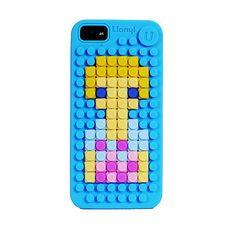 Pixelated customizable Uanyi iPhone Case