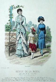 Revue de la Mode 1881
