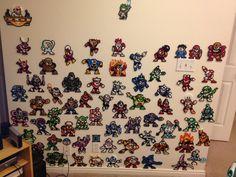 Any Robot Master from Mega Man  Perler Bead Sprite by VGPerlers, $6.00