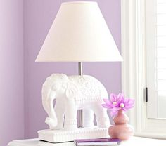 #Elephant Complete Lamp | Pottery Barn Kids $129.00 (it may be in the kids catalog, but I love it)