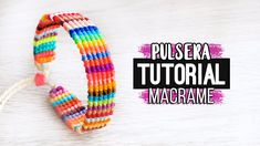 tpys educational and The Most Beautiful Pictures at Pinteres It is one of the best quality pictures that can be presented with this vivid and remarkable picture tpys lol . The picture called Pulsera horizontal Thread Bracelets, Macrame Bracelets, Macrame Tutorial, Bracelet Tutorial, Simple Plan, Macrame Colar, Knitted Necklace, Micro Macramé, Diy Art Projects