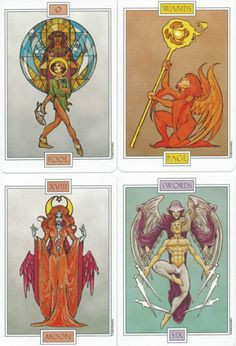 A review of the Winged Spirit Tarot deck; review by Viv Dulac of Jude's Tarot and Metaphysical World.