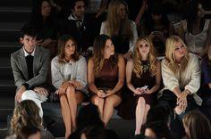 The Olivia Palermo Lookbook : New York Fashion Week Spring/Summer 2012 :Olivia Palermo at Tibi