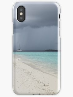 Before the storm comes and the sky turns grey, while the send is still white and the see turquoise. Bring this beautiful peaceful atmosphere to your home.Phone and pad cases. Iphone Wallet, Iphone 11, Android Secret Codes, Iphone Case Covers, Sky, Turquoise, Island, Nature, Samsung