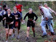 Zombie survival race