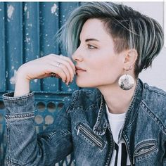 """2,570 Likes, 36 Comments - PixieCut  ShortHair  Blogger (@nothingbutpixies) on Instagram: """"@sarah_louwho got her hair cut into a pixie after a long time with a Bob haircut. She got it cut by…"""""""