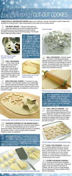 cookie making and cut out tips