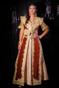 Robe traditionnelle mariage oriental