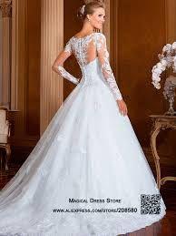 Resultado de imagen para vestido de novia corte princesa con mangas