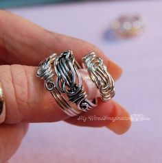 Wire  Knot a Ring - All Wire Ring - Jewelry Tutorial - Instant Downloadable PDF File. $10.00, via Etsy.