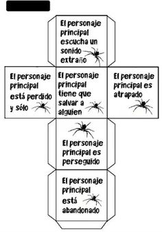 Creciendo con libros y juegos: ACTIVIDADES PARA TRABAJAR HALLOWEEN (1) Primary Classroom Displays, Spanish Classroom Activities, Class Activities, Story Cubes, Kids Library, Teacher Planner, Writing Styles, Sixth Grade, Student Teaching