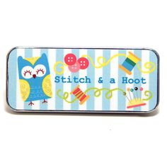 Magnetic Needle Case Needle Slider Case Stitch and by PinoyStitch