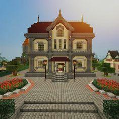 how do tou build a castle on minecraft ipad Minecraft Mansion, Minecraft Castle, Cute Minecraft Houses, Minecraft Plans, Minecraft House Designs, Minecraft Construction, Minecraft Games, Minecraft Blueprints, Minecraft Creations