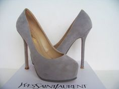 Why not try classic pumps with the most splendid of heels?   New ...
