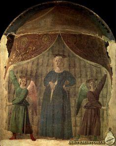 Madonna del Parto, Piero Della Francesca, h 1460, Museo de Monterchi