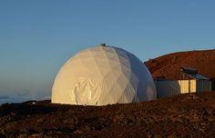 Scientists and volunteers endure strange circumstances to understand the needs of space travel.