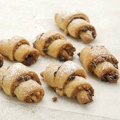 "Rugelach is probably one of the most widely known and cross-cultural of Jewish baked goods and treats. The name rugelach is believed to be derived from the Yiddish ""rugel,"" meaning royal. Rugelach are also called kipfel, cheese bagelach, and cream cheese horns, depending on where you are in the world"