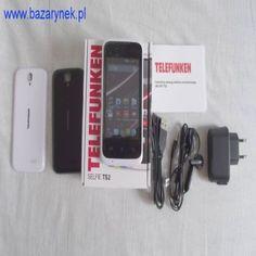 """Smartfon Telefunken Selfie TS2 Aero2   Dual SIM   Ekran 3,5"""" 262 tys. kolorów   Rozdzielczość: 320*480   CPU: 1,2 GHz   Android 4.4.2   Aparat główny: 5 Mpix   Kamera przednia 2 Mpix   Pamięć wbudowana 512 MB   RAM"""