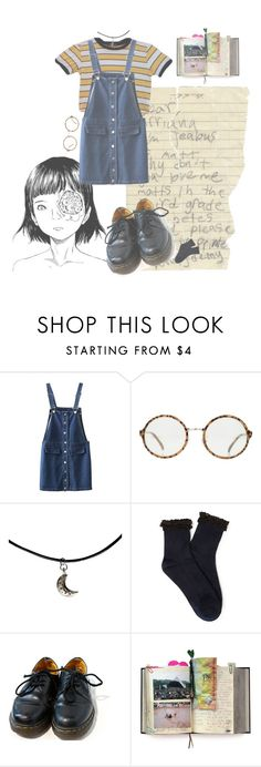"""x"" by drugxpizza on Polyvore featuring mode, Ødd., Forever 21, Dr. Martens, Suck, women's clothing, women's fashion, women, female et woman"