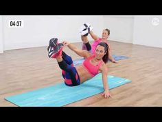 10-Minute Fast and Furious Flat-Belly Workout - YouTube