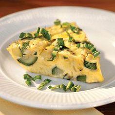 Summer Squash Frittata Recipe   MyRecipes.com
