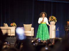 Je vous dis TOUT de ma soirée avec @Oprah