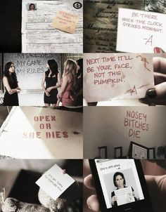 -A Messages - Pretty Little Liars