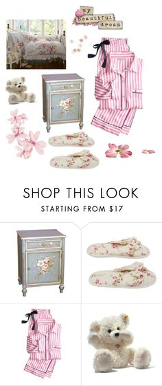 """""""May Your Dreams Come True"""" by hiddensoulmemories ❤ liked on Polyvore featuring Shabby Chic, Deluxe Comfort, Victoria's Secret and LIZZY"""