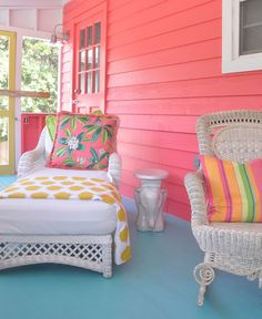 Love these colors (Jane Coslick Cottages)
