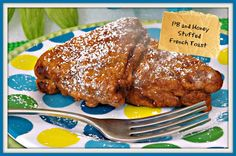 FoodThoughtsOfaChefWannabe: Peanut Butter and Honey Stuffed French Toast