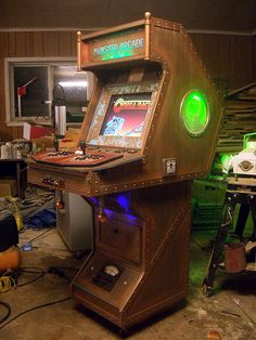 The Dr Frankenstein MAME Cabinet
